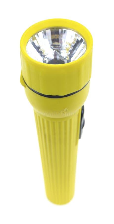 Желтый электрофонарь стоковые фото