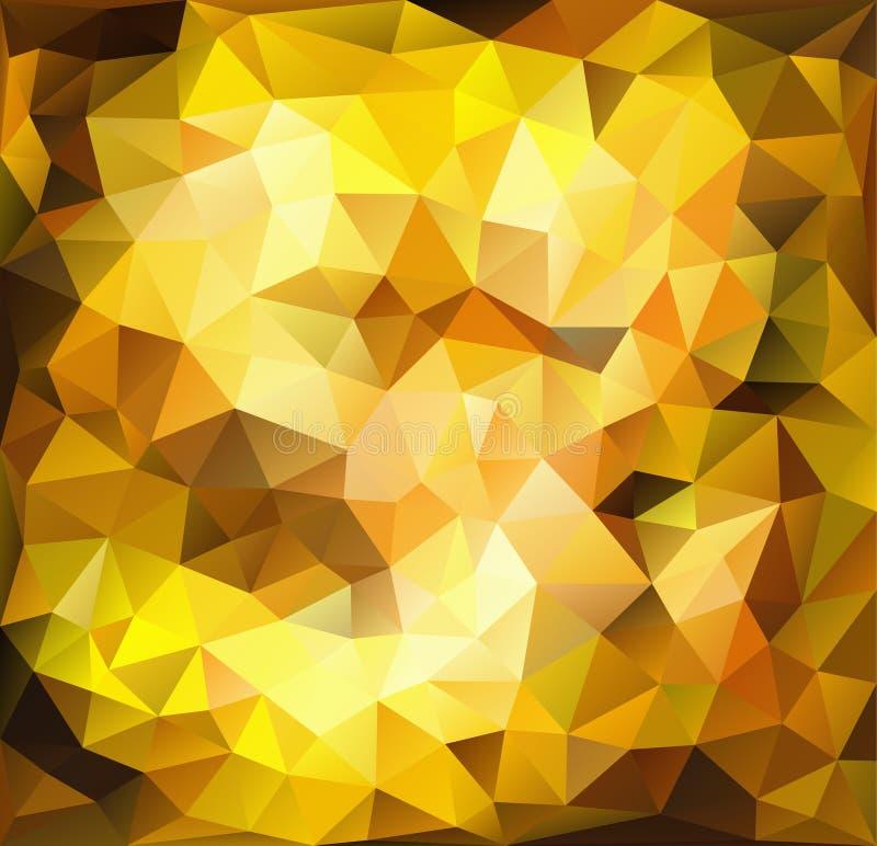 Живая предпосылка золота бесплатная иллюстрация