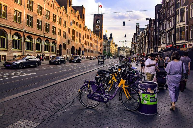 Живите в Амстердаме стоковая фотография