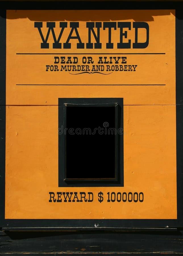 живой мертвый хотят плакат, котор стоковое фото rf