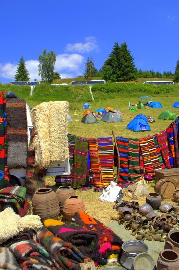 Живописные болгарские объекты дома горы стоковое фото