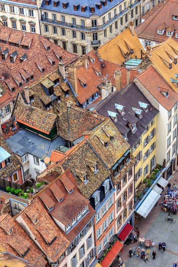 Живописный страсбург стоковая фотография rf