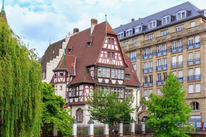 Живописный страсбург стоковое изображение
