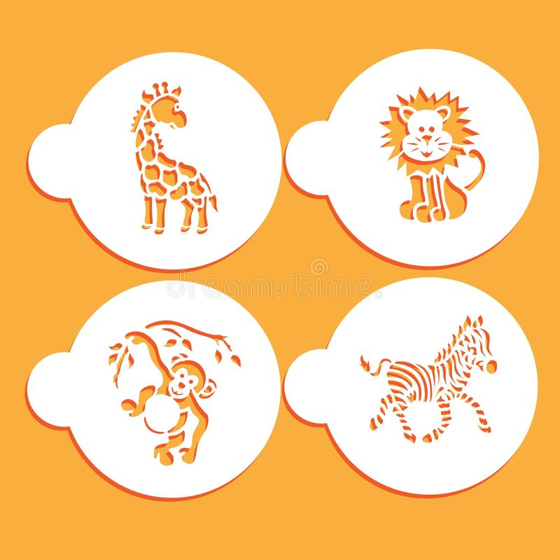 Животная карточка восковки бесплатная иллюстрация
