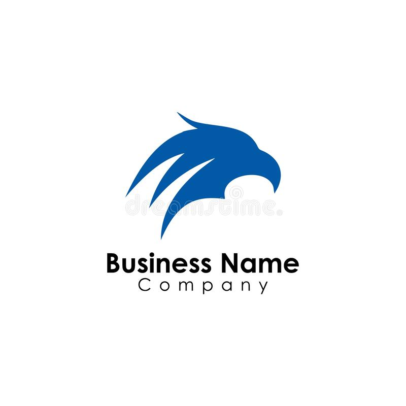 животное, вектор дизайна шаблона логотипа орла, голова иллюстрация вектора