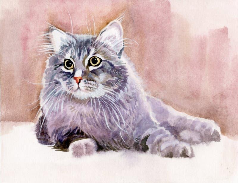 Животное собрание: Кот иллюстрация штока