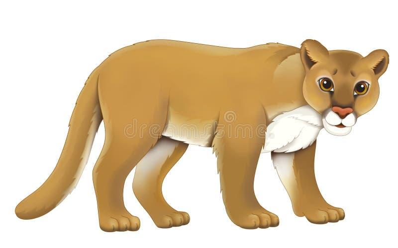 Животное шаржа - иллюстрация для детей бесплатная иллюстрация