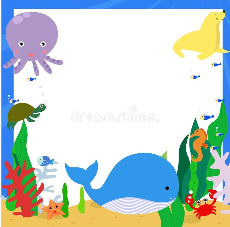 Животные моря бесплатная иллюстрация