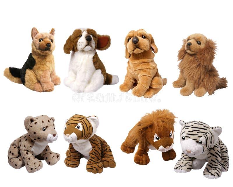 животные мягкие игрушки стоковая фотография rf