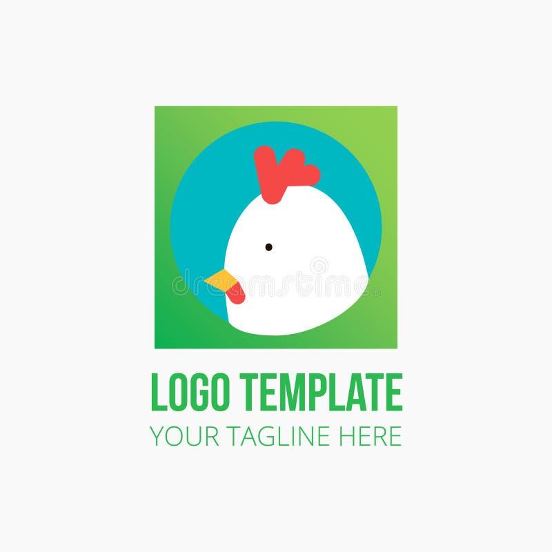 животный дизайн логотипа стоковая фотография rf