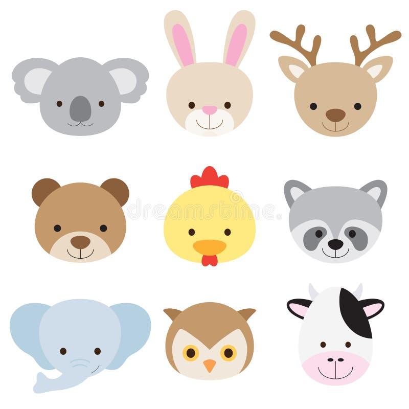 Download животный комплект стороны Стоковое Изображение - изображение: 25178891