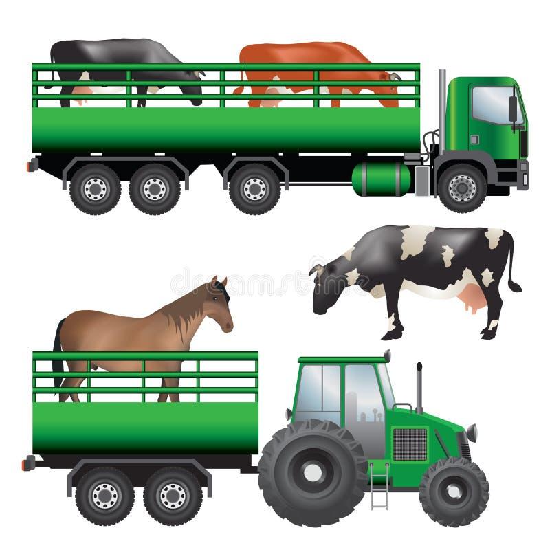 Животный транспорт иллюстрация вектора