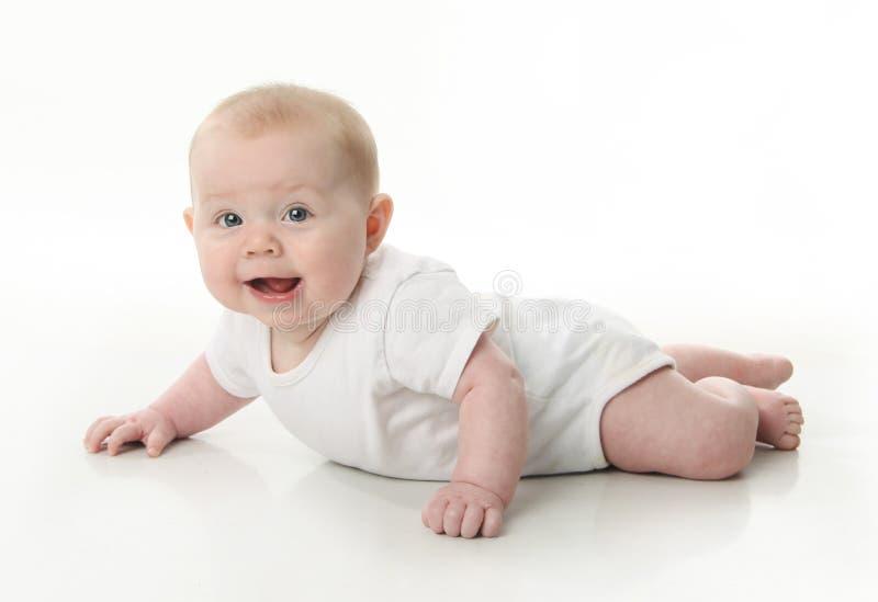 живот младенца стоковое фото