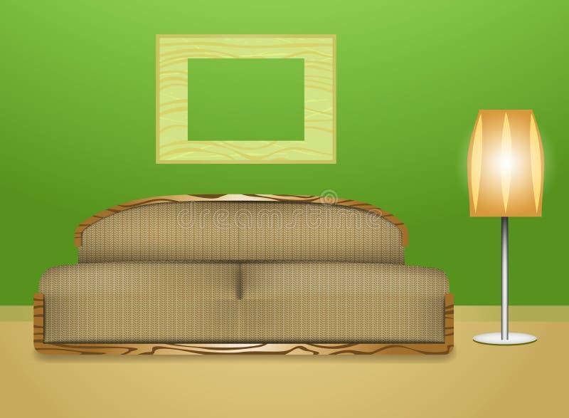 Download Живущая комната иллюстрация штока. иллюстрации насчитывающей дом - 33739047