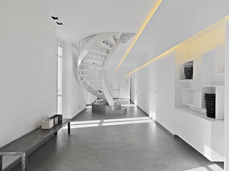 живущая самомоднейшая комната стоковое фото rf