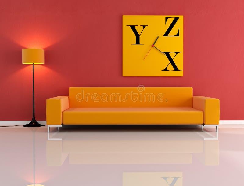 Download живущее самомоднейшее иллюстрация штока. иллюстрации насчитывающей мебель - 6863214