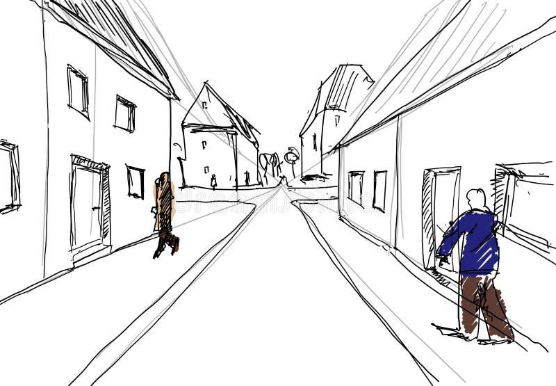 Живущий город бесплатная иллюстрация