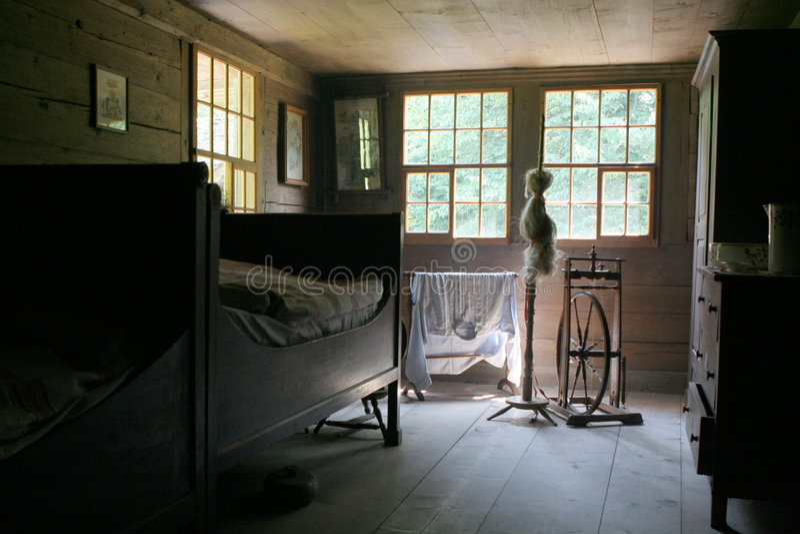 живущий старый тип комнаты стоковые изображения rf