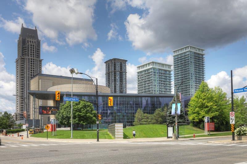 Живущий центр искусств в Mississauga, Канаде стоковые изображения