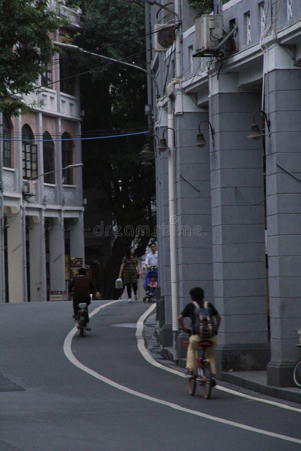 Живя жизнь старого стиля Гуанчжоу стоковая фотография
