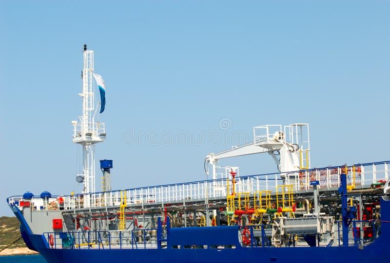 жидкий топливозаправщик газа стоковое изображение rf