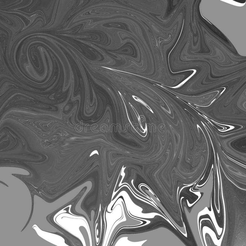 жидкостная абстрактная предпосылка с чертами картины маслом бесплатная иллюстрация