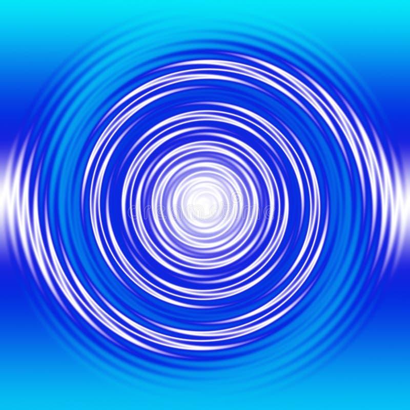 жидкостная свирль иллюстрация вектора