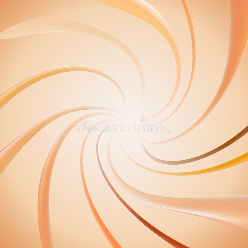 Жидкостные элементы учреждения Брызгать бежевую палитру образца тона Подача сливк Элементы макияжа красоты для моды бесплатная иллюстрация