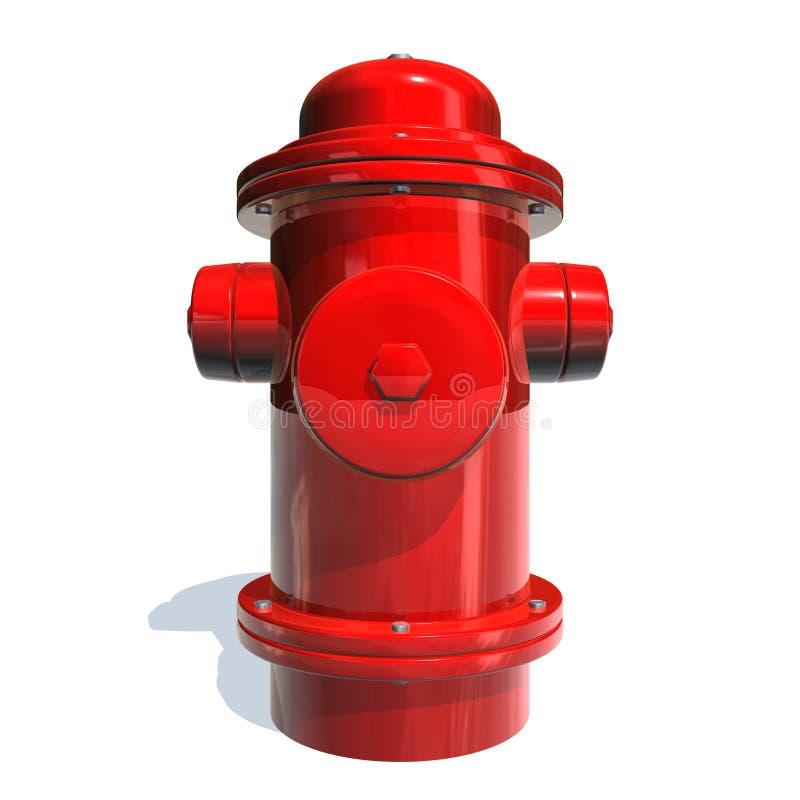 жидкостный огнетушитель иллюстрация штока