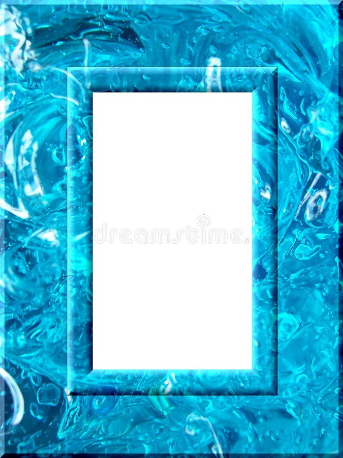 жидкость рамки иллюстрация вектора