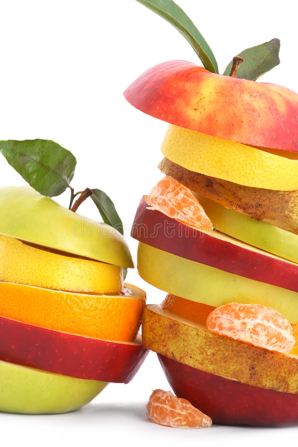 жизнерадостные смешанные плодоовощи плодоовощ стоковая фотография