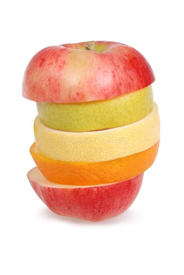 жизнерадостные смешанные плодоовощи стоковые изображения rf