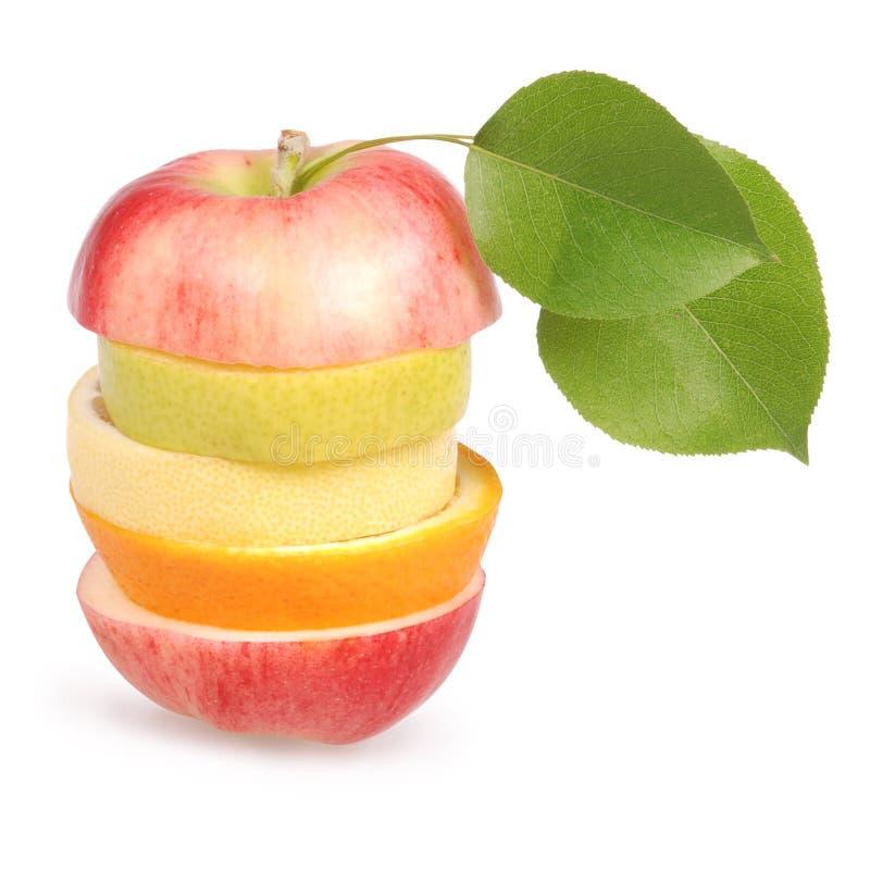 жизнерадостные смешанные плодоовощи стоковая фотография