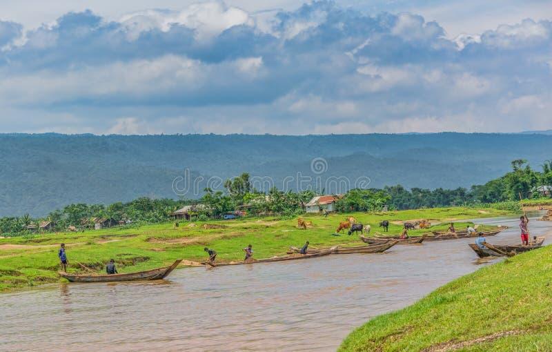 Жизнь вокруг Bisanakandi стоковые изображения rf