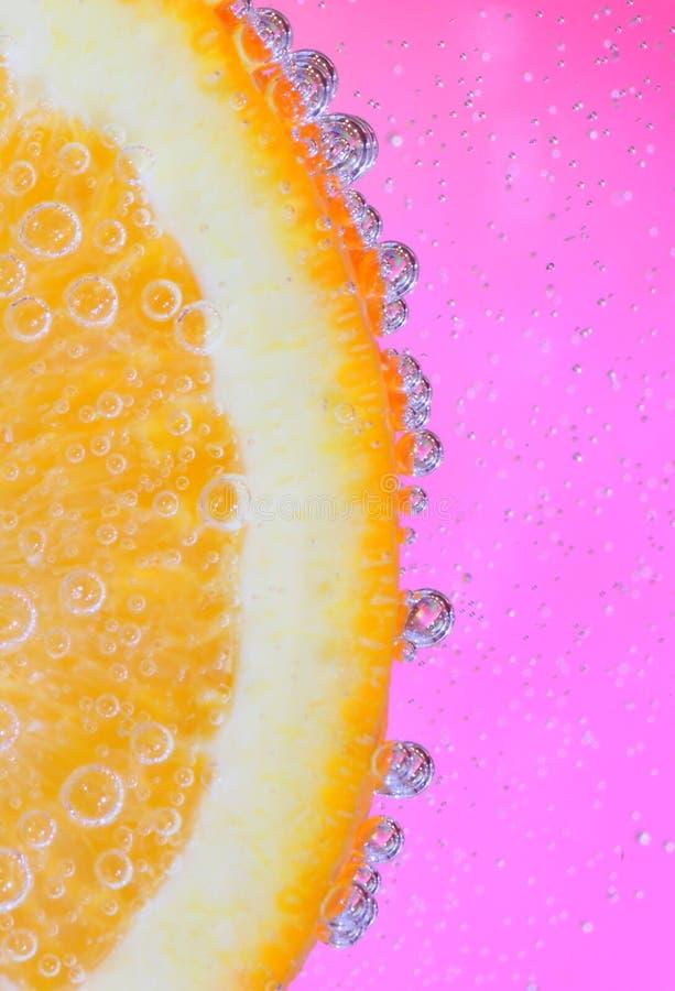 Жизнь в апельсине и пинке стоковые изображения