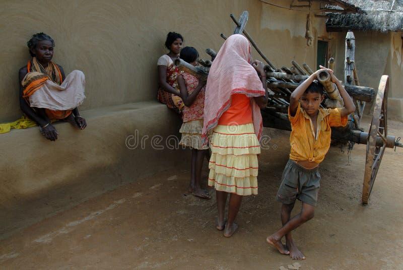 жизнь Индии сельская стоковая фотография rf