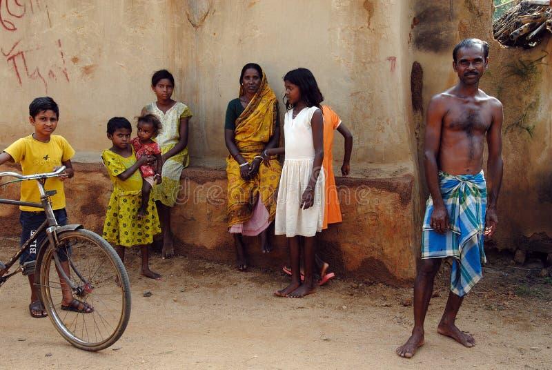 жизнь Индии сельская стоковые фотографии rf