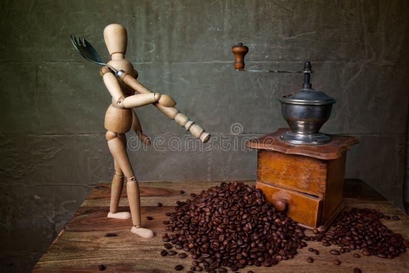 жизнь кофе все еще стоковые изображения rf