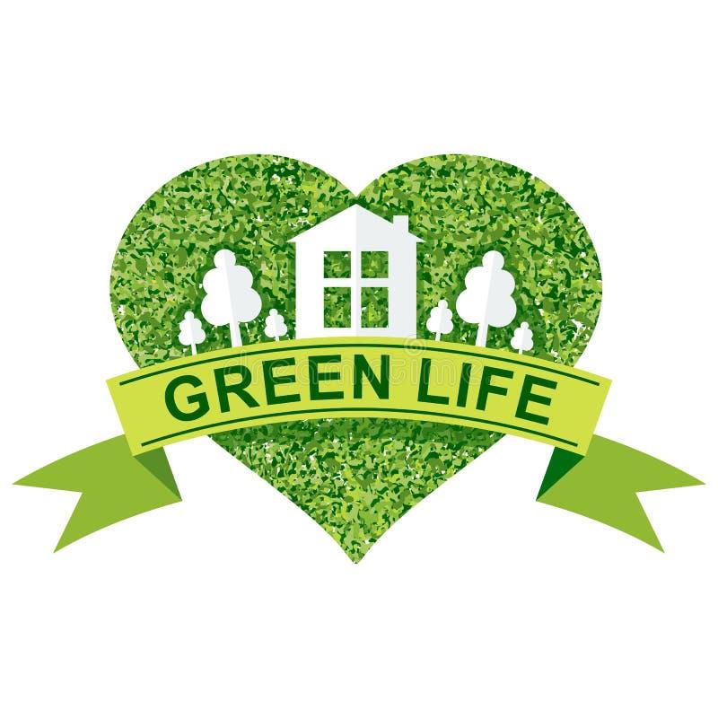 жизнь принципиальной схемы зеленая бесплатная иллюстрация