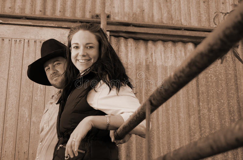 жизнь фермы стоковое изображение