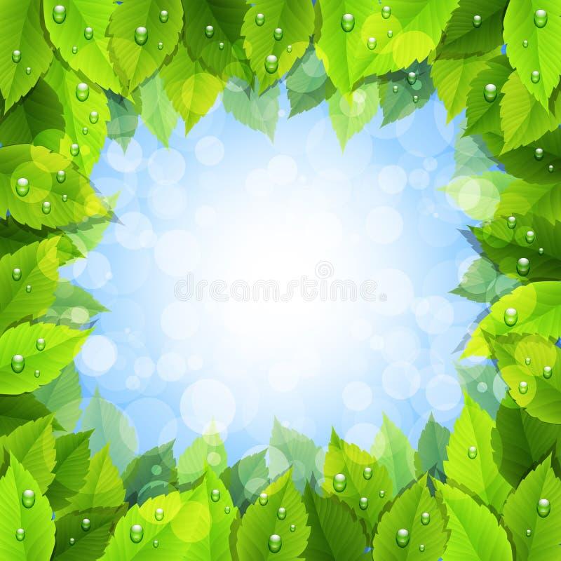 жизнь eco зеленая бесплатная иллюстрация
