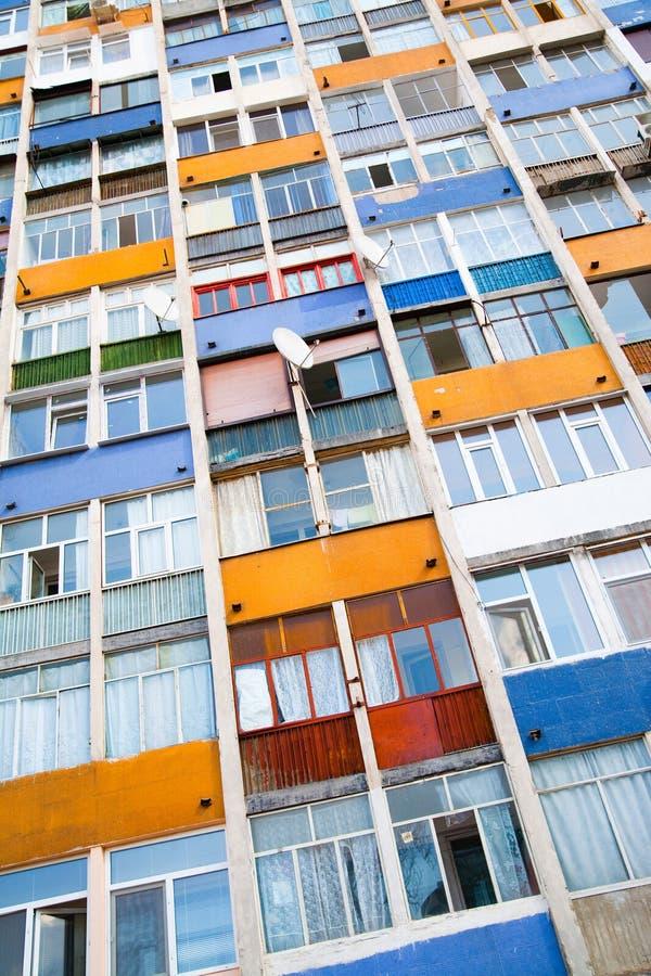 жилой дом цветастый стоковое фото