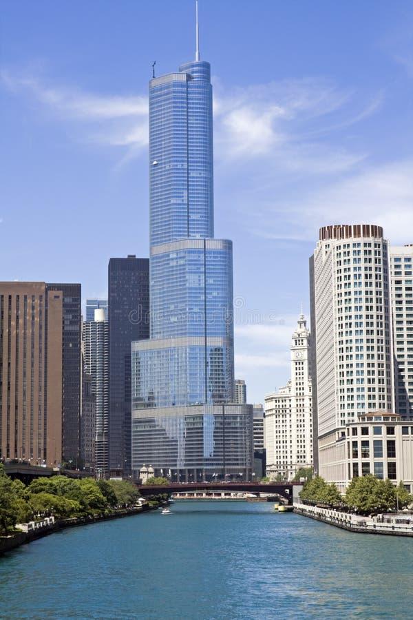 жилые дома chicago стоковые фотографии rf