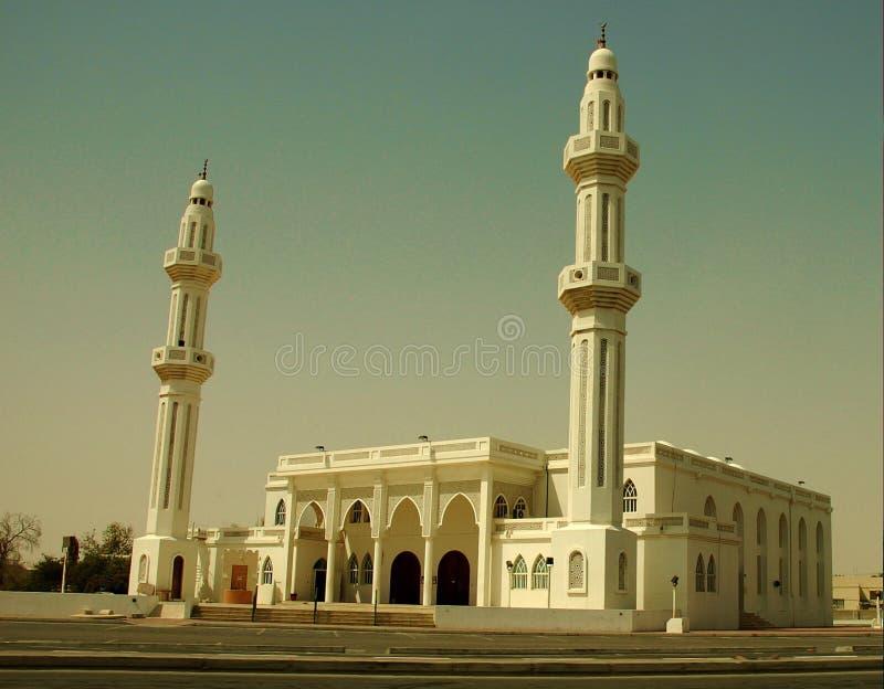 житель Саудовской Аравии мечети стоковое фото rf