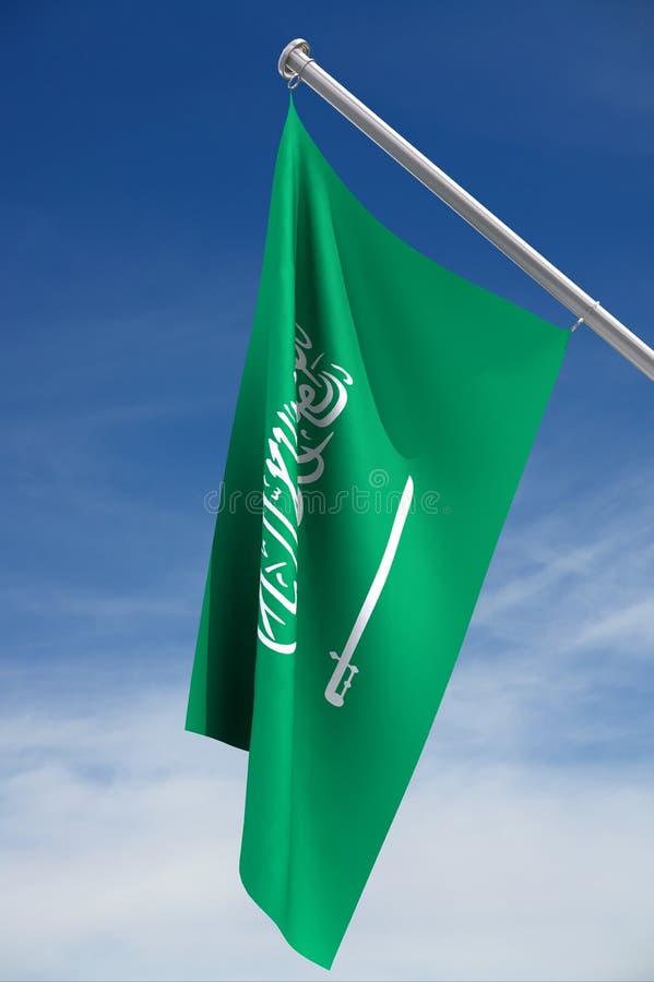 житель Саудовской Аравии флага Аравии бесплатная иллюстрация