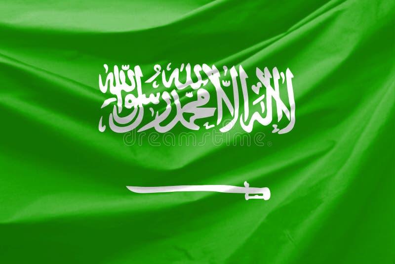 житель Саудовской Аравии флага Аравии иллюстрация штока