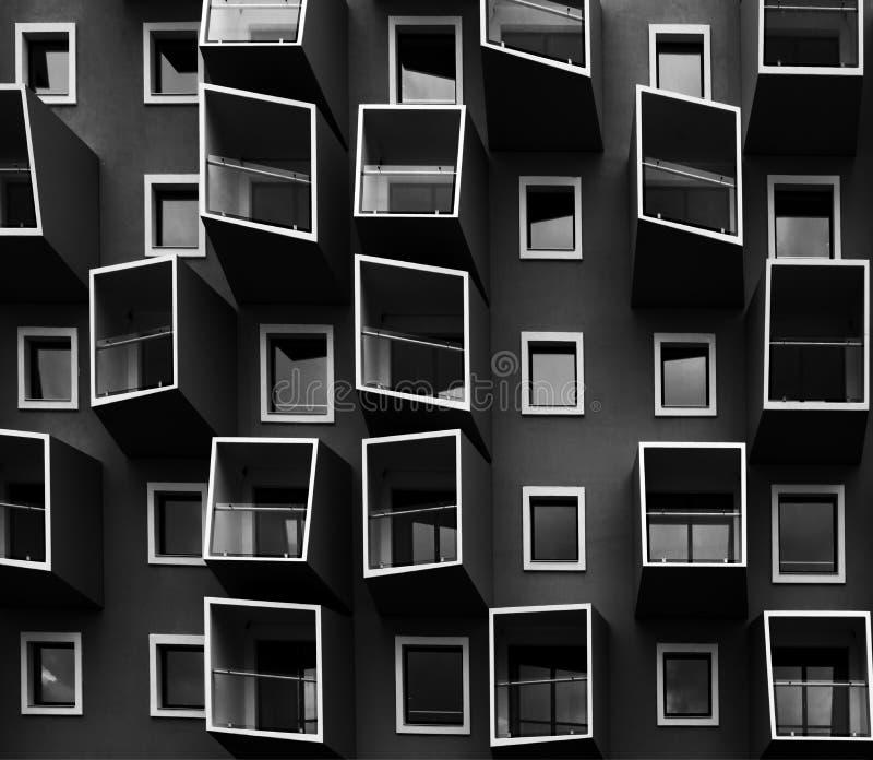 Жить в коробках стоковое изображение