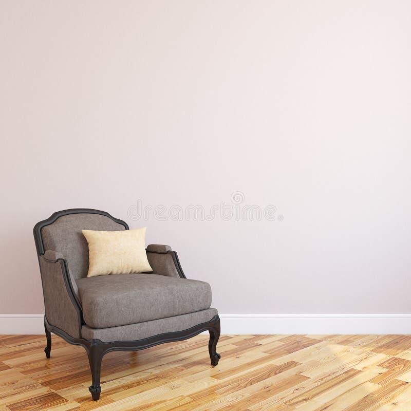 Жить-комната Interiorof иллюстрация вектора