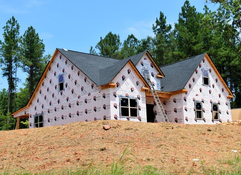 Жилищное строительство в Bogart Georgia стоковая фотография