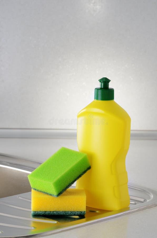Жидкость Dishwashing стоковые изображения